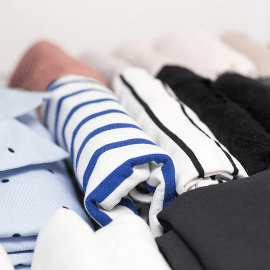 This year, store a New Year's resolution in your closet