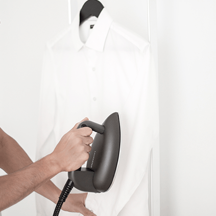 How to steam vertically with your iron?